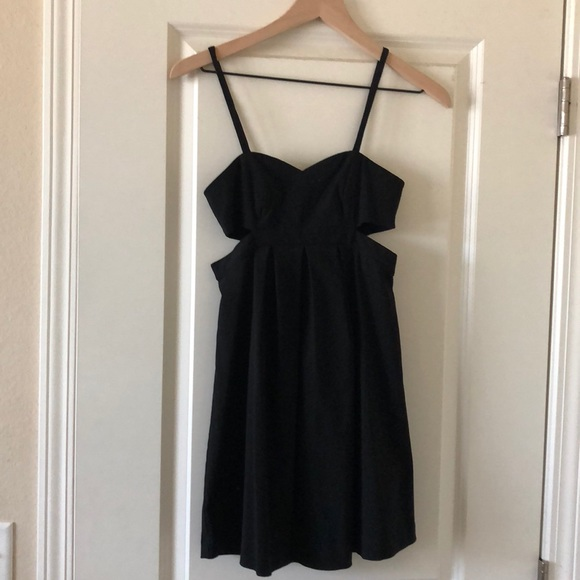 Sparkle & Fade Dresses & Skirts - Little black dress XS cutout Urban Outfitters